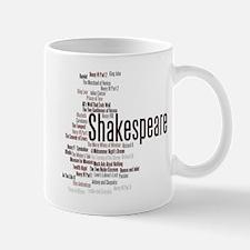 Shakespeare's Plays Mugs