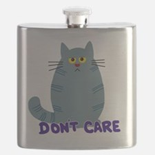 Dont Care Cat Flask