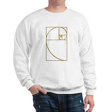 Golden Ratio Sacred Fibonacci Spiral Sweatshirt