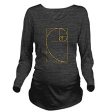 Golden Ratio Sacred Fibonacci Spiral Long Sleeve M