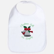 Christmas Bells Ringing Bib