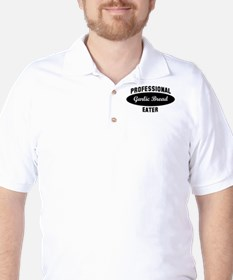 Pro Garlic Bread eater Golf Shirt