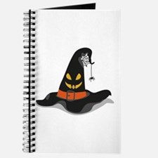 Spooky Witch Hat Journal