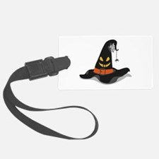 Spooky Witch Hat Luggage Tag