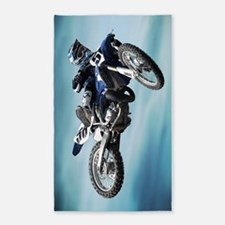 Dirt Bike Jump 3'x5' Area Rug