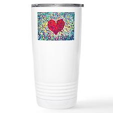 Cute Heart Travel Mug