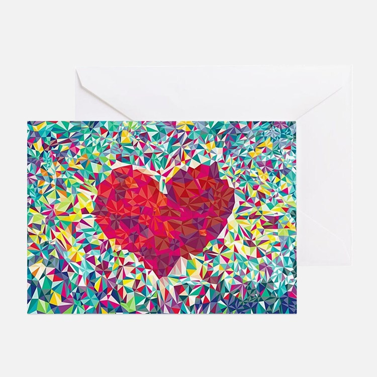 Cute Heart Greeting Card