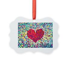 Unique Love Picture Ornament