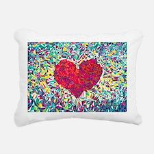 Unique Love Rectangular Canvas Pillow