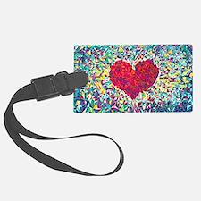 Cute Heart Luggage Tag