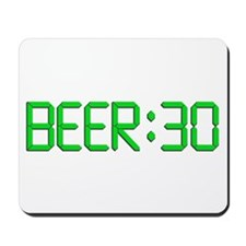 The Time Is Beer 30 Mousepad