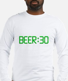 The Time Is Beer 30 Long Sleeve T-Shirt