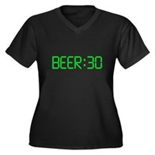 The Time Is Beer 30 Plus Size T-Shirt