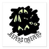 Jeeper creeper Square Car Magnets