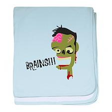 Brainsh! baby blanket