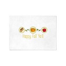 Happy Fall Yall 5'x7'Area Rug