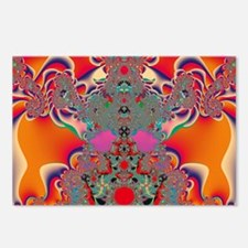Red Meditation Postcards (Package of 8)