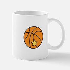 Starred Basketball Mugs
