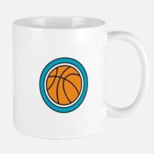 Encircled Basketball Mugs