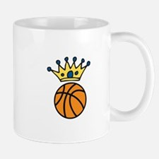 Crowned Basketball Mugs