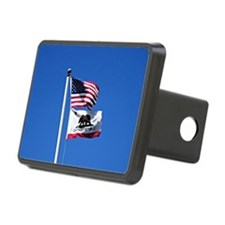 American Flag and Flag of  Hitch Cover