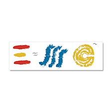 EMC2SPAIN Car Magnet 10 x 3