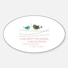 Sing a Song Decal