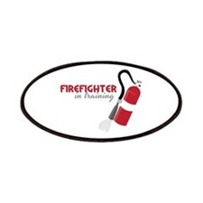 Firefighter in Training Patches