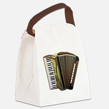Beautiful Accordion Musical Instr Canvas Lunch Bag