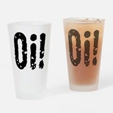 Oi! (Punk) Drinking Glass
