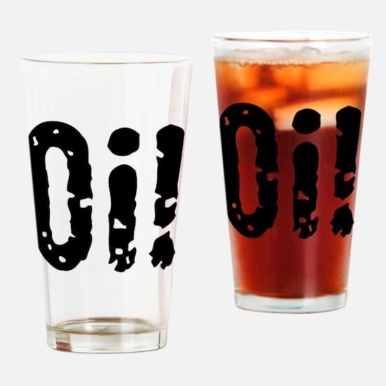 Oi! (Punk) Drinking Glass