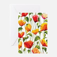 Floral Pattern Greeting Cards