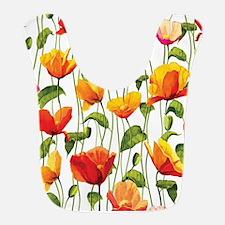 Floral Pattern Bib