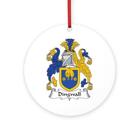 Dingwall Ornament (Round)