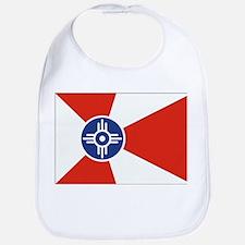 Wichita Flag Baby Bib