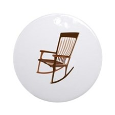 Rocking Chair Ornament (Round)