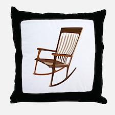 Rocking Chair Throw Pillow