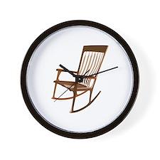 Rocking Chair Wall Clock