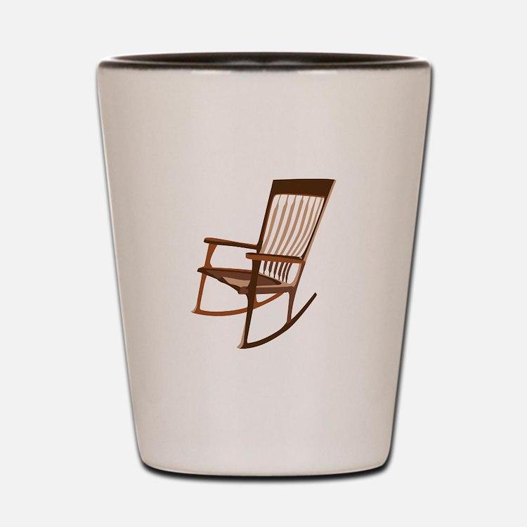 Rocking Chair Shot Glass
