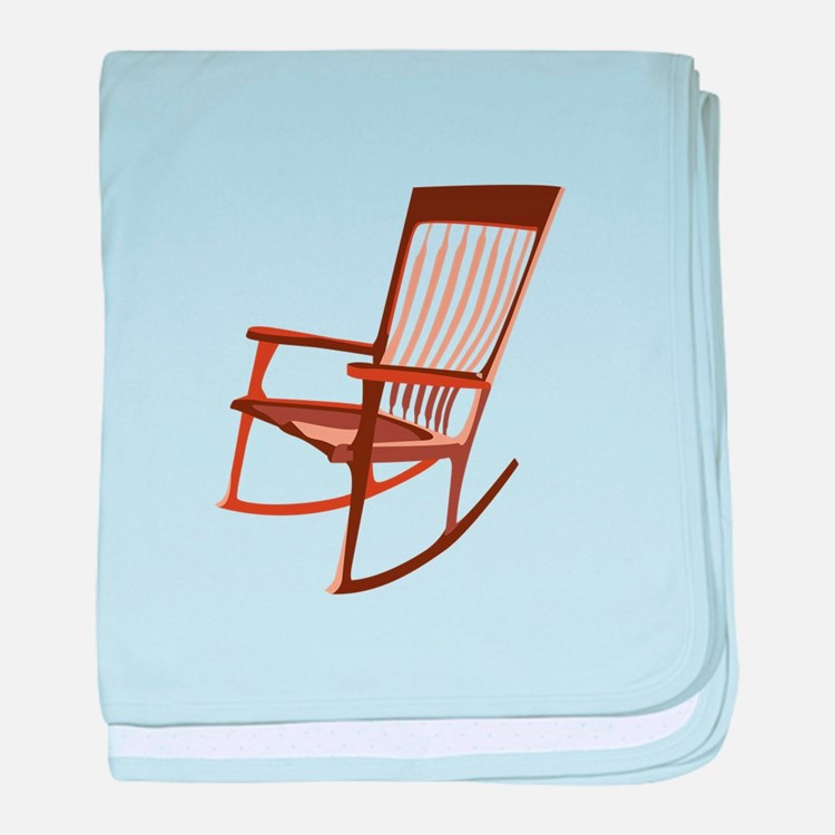 Rocking Chair baby blanket