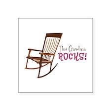 The Grandma Rocks! Sticker