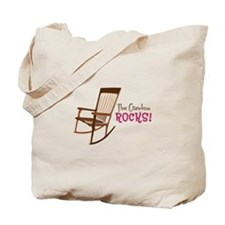 The Grandma Rocks! Tote Bag
