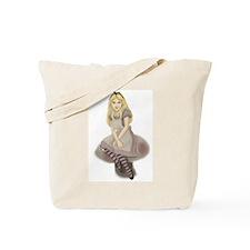Wonderland Girl Tote Bag