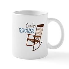 Grandpa Rocks! Mugs