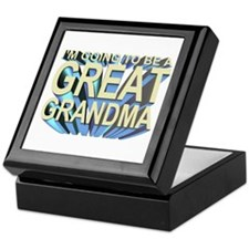 going to be a great grandma Keepsake Box