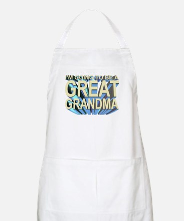 going to be a great grandma BBQ Apron