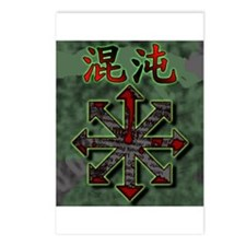 Chaos Postcards (package Of 8)