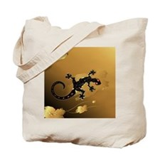 Cute Gecko Tote Bag