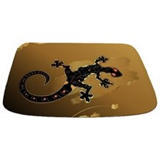 Cute Gecko Bathmat