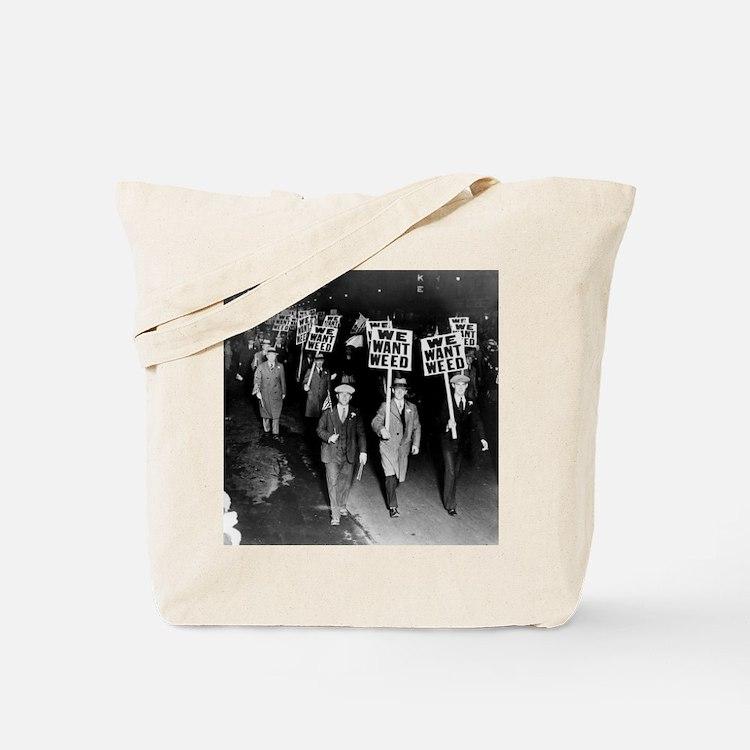 Cute Drugs humor Tote Bag